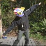 Craig Jacobrown: Free Paper Mask Making Class