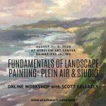 Fundamentals of Landscape Painting: Plein Air & Studio with Scott Gellatly