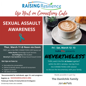 Connections Cafe: Sexual Assault Awareness