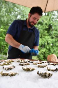 Salish Sea Greens Oyster Bar Pop-Up