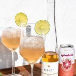 Summer in a glass - Angelica Spritzer