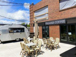 Pegasus Coffee Trailer