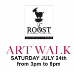 Roost Art Walk