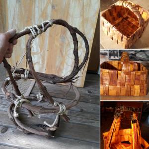 Cedar Bark Crafts