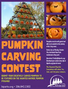 Haunted Hayride Pumpkin Carving Contest