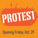Bainbridge Island Historical Museum exhibit: Protest
